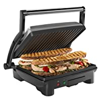 how to clean a non stick panini press