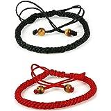 2 pc handmade kabbalah red string bracelet - wear for prosperity and success