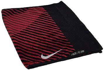 Nike Face/Club Jacquard III Towel Toalla, Unisex Adulto, Negro/Blanco/