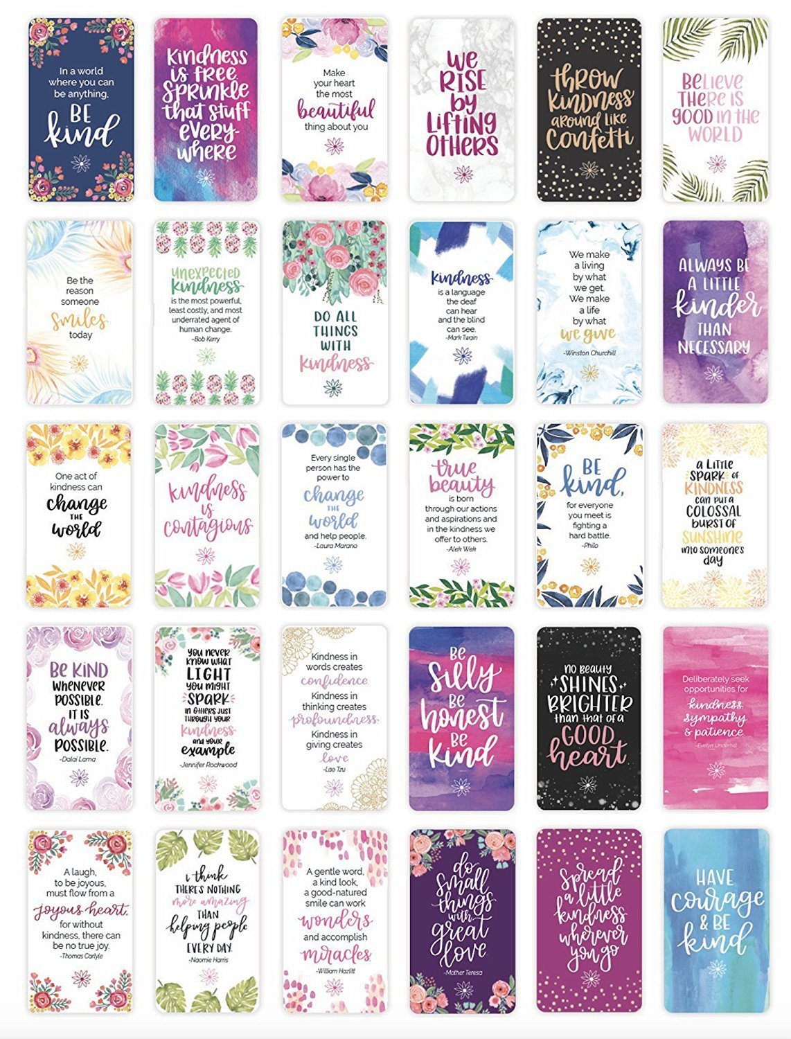 bloom daily planners Card Decks (Encouragement Cards)