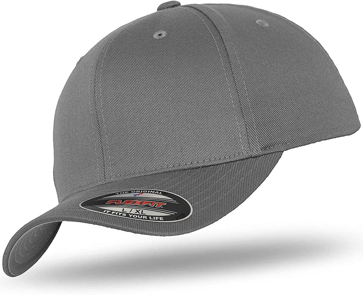Flexfit - Gorra de béisbol - para hombre gris Medium: Amazon.es ...
