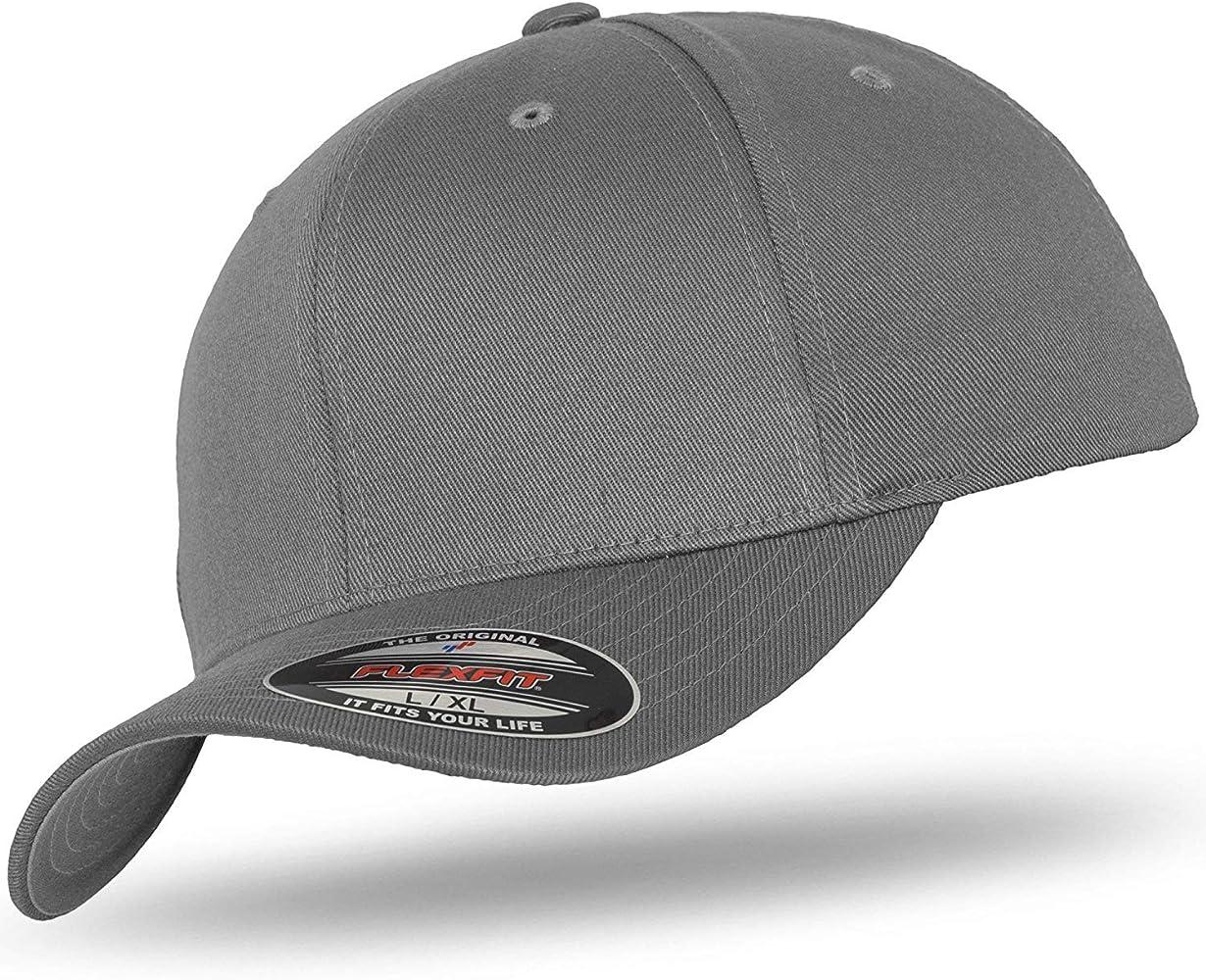 Flexfit - Gorra de béisbol - para hombre gris Medium: Amazon.es ...