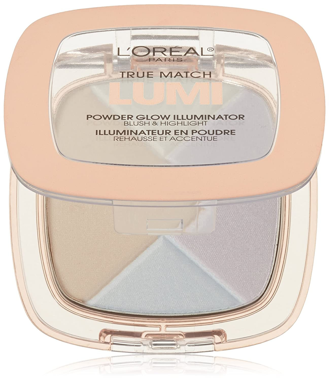 L'Oréal Paris True Match Lumi Powder Glow Illuminator, Ice, 0.31 oz.