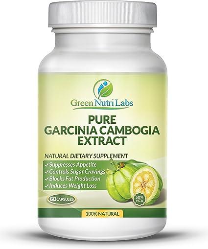 Amazon Com Pure Garcinia Cambogia Extract With Hca 50 1 200
