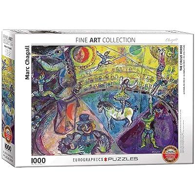 EuroGraphics Marc Chagall Le Cheval De Cirque Puzzle (1000 Piece): Toys & Games [5Bkhe0201295]