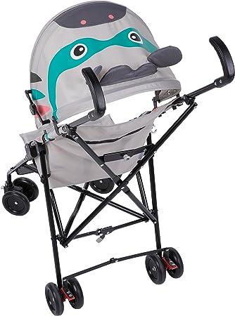 Safety 1st Crazy Peps Silla Paseo ligera, capota con diseño divertito, Plegable y compacta, Pesa 4,6 kg, Cebra