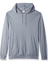 Lacoste Mens Men's Hooded Cotton Jersey Sweatshirt T-Shirt