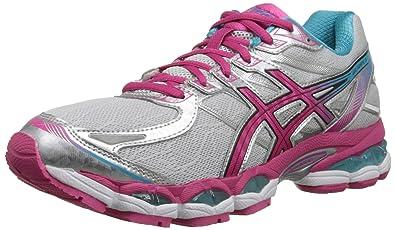 ASICS Women's Gel-Evate 3 Running Shoe,Lightning/Hot Pink/Blue,