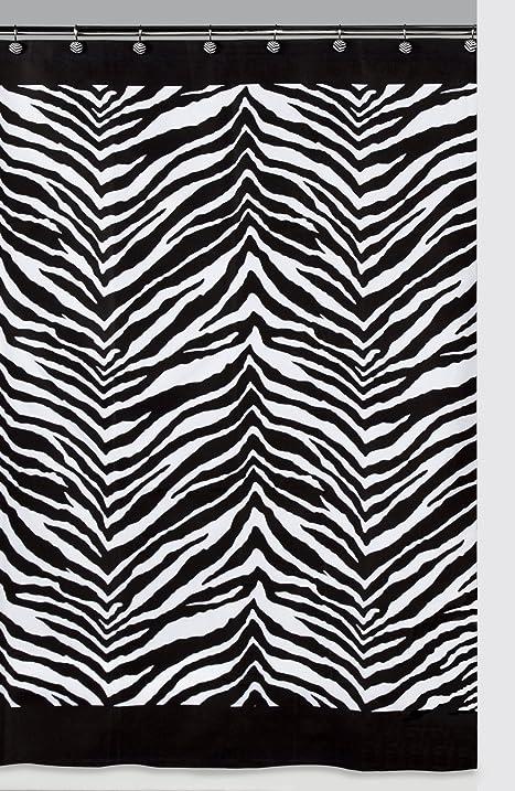 Amazon.com: Creative Bath Products Inc. S1050BW Zebra Shower ...