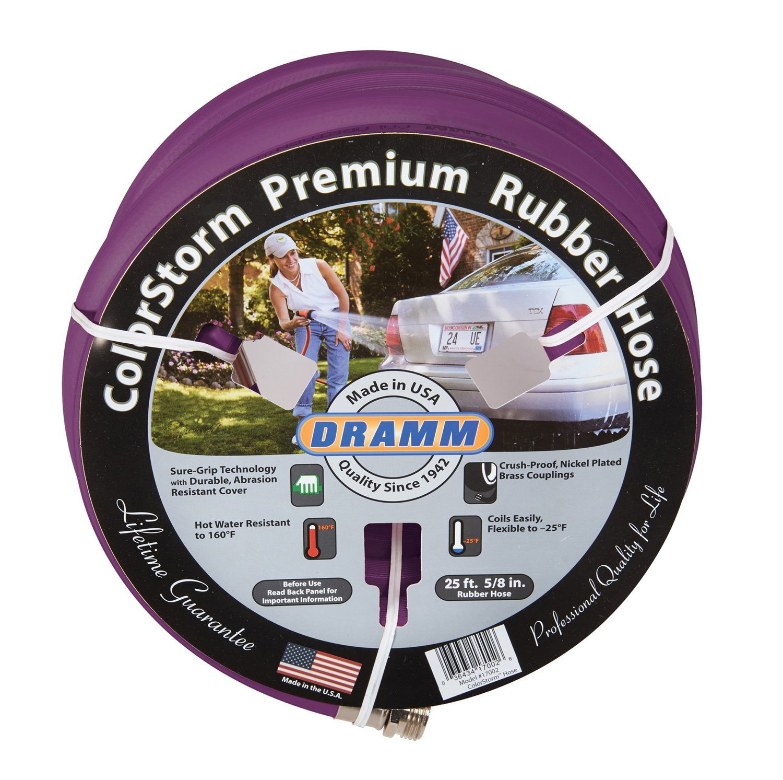 Amazon.com : Dramm 17106 ColorStorm Premium Rubber Hose 5/8