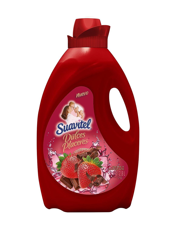 Suavitel Suavizante Para Ropa Fresas Y Chocolate 2 8 L Amazon  ~ Suavizante De Ropa Que Mejor Huele