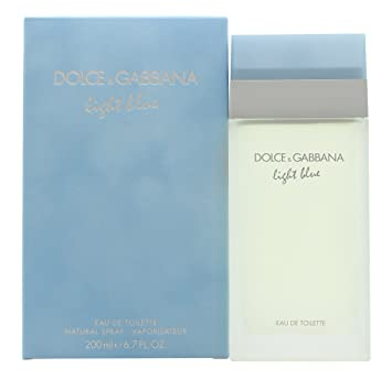 cbe6d8ce5 Image Unavailable. Image not available for. Color: Dolce & Gabbana Light  Blue ...