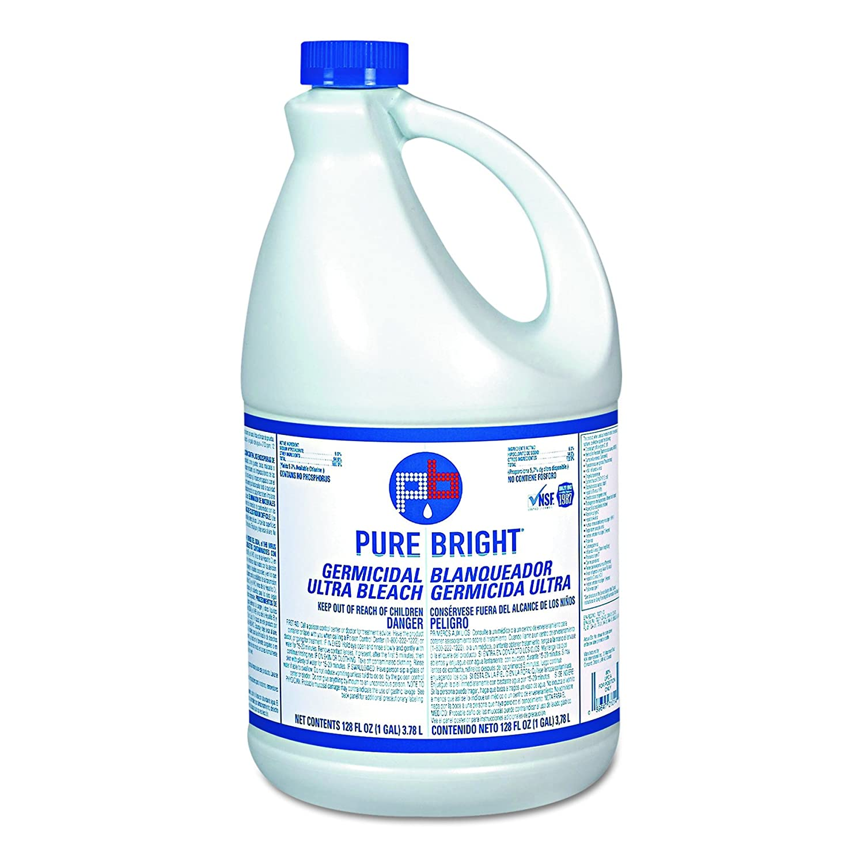Pure Bright BLEACH3 Liquid Bleach, 1gal Bottle (Case of 3)