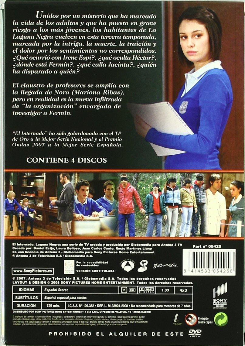 Internado,El Temporada 3 [DVD]: Amazon.es: Luis Merlo, Amparo ...
