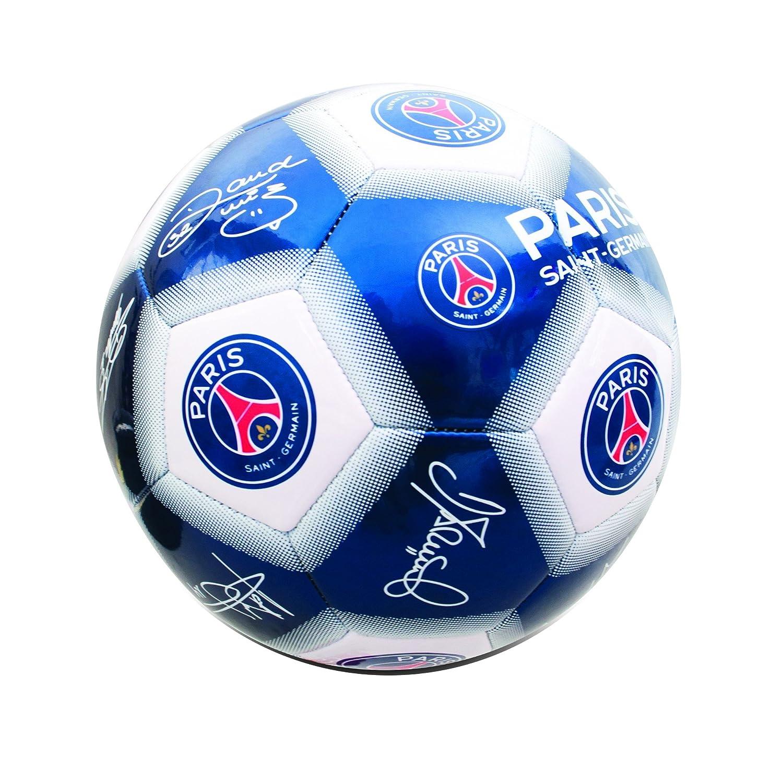 Paris Saint Germain FC Official - Balón de fútbol mini con firmas  UTSG10338 1 a13071ebf432e