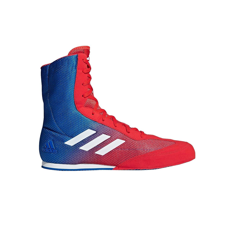 Adidas Box Hog Plus Boxeo Zapatillas - AW17 44 EU|azul/rojo