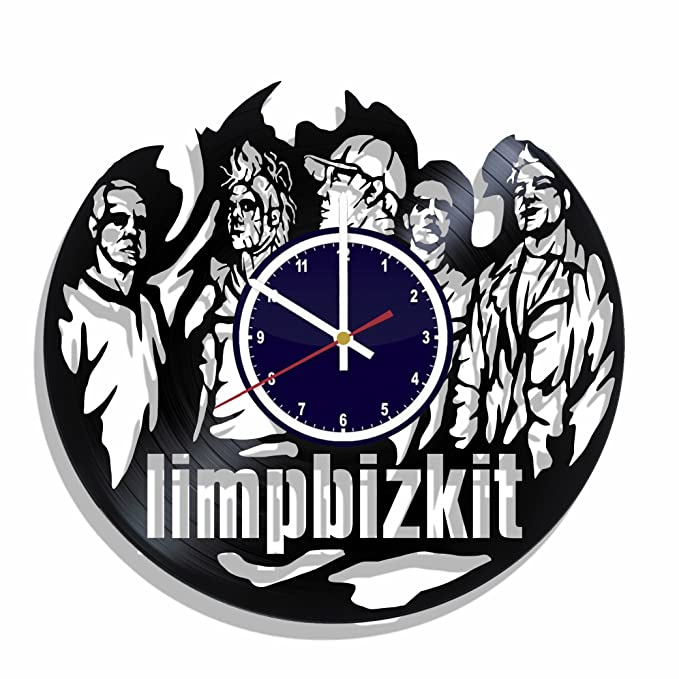 Amazon Limp Bizkit Rock Band Wall Clock Made From Real Vinyl