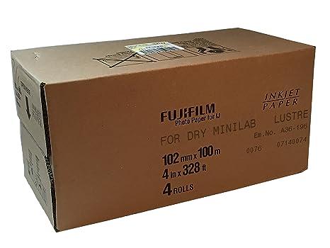 Amazon.com: Fujifilm Lustre Impresoras Inkjet Photo Paper ...