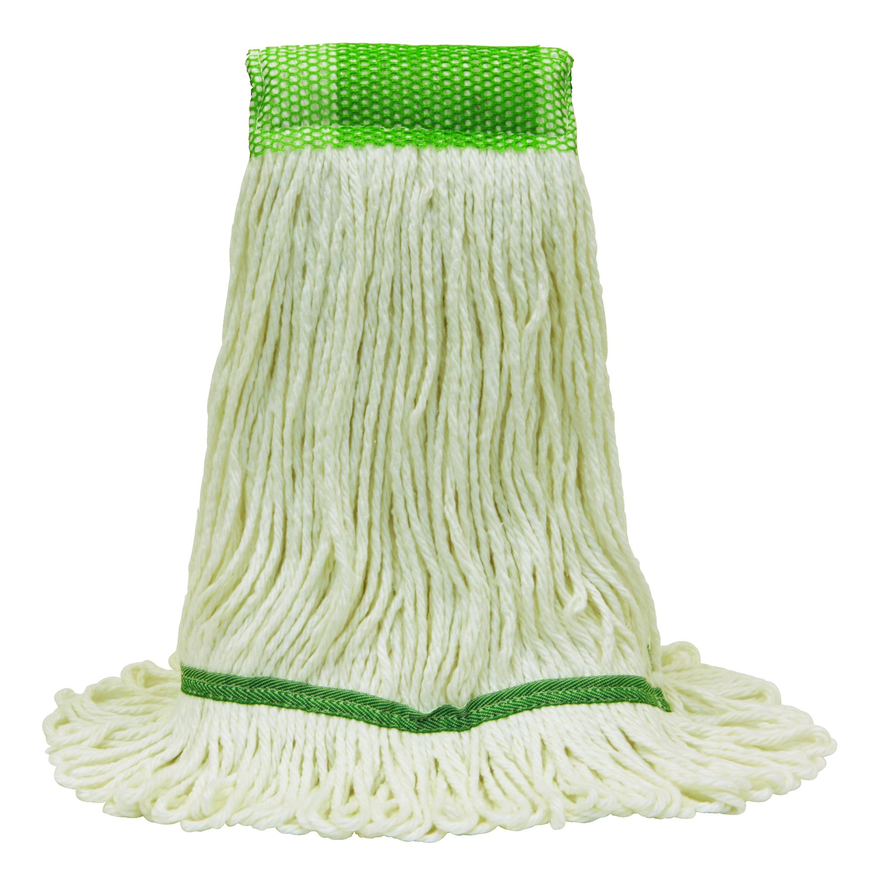 O'Cedar Commercial 97213 Healthi-Pro Anti-Microbial Mop, Large, White (Pack of 6)