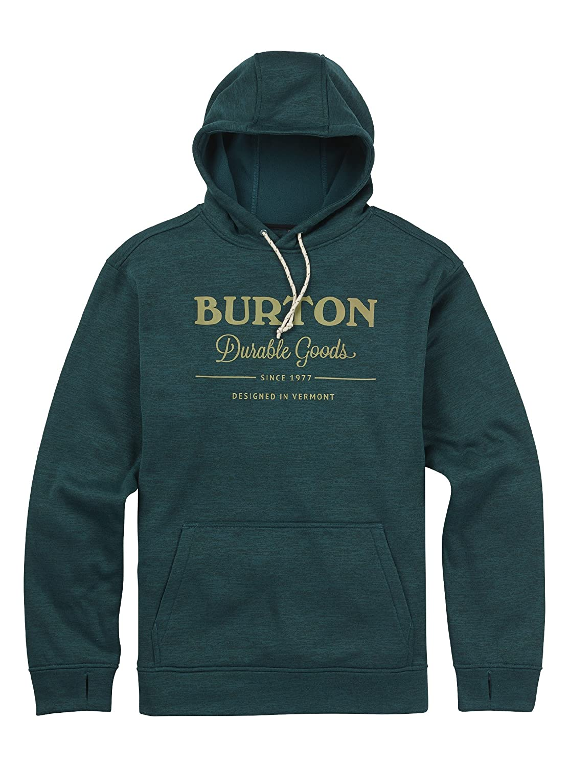 Burton Men's Oak Pullover, Jasper Heather, Medium Burton Men' s Oak Pullover 162231