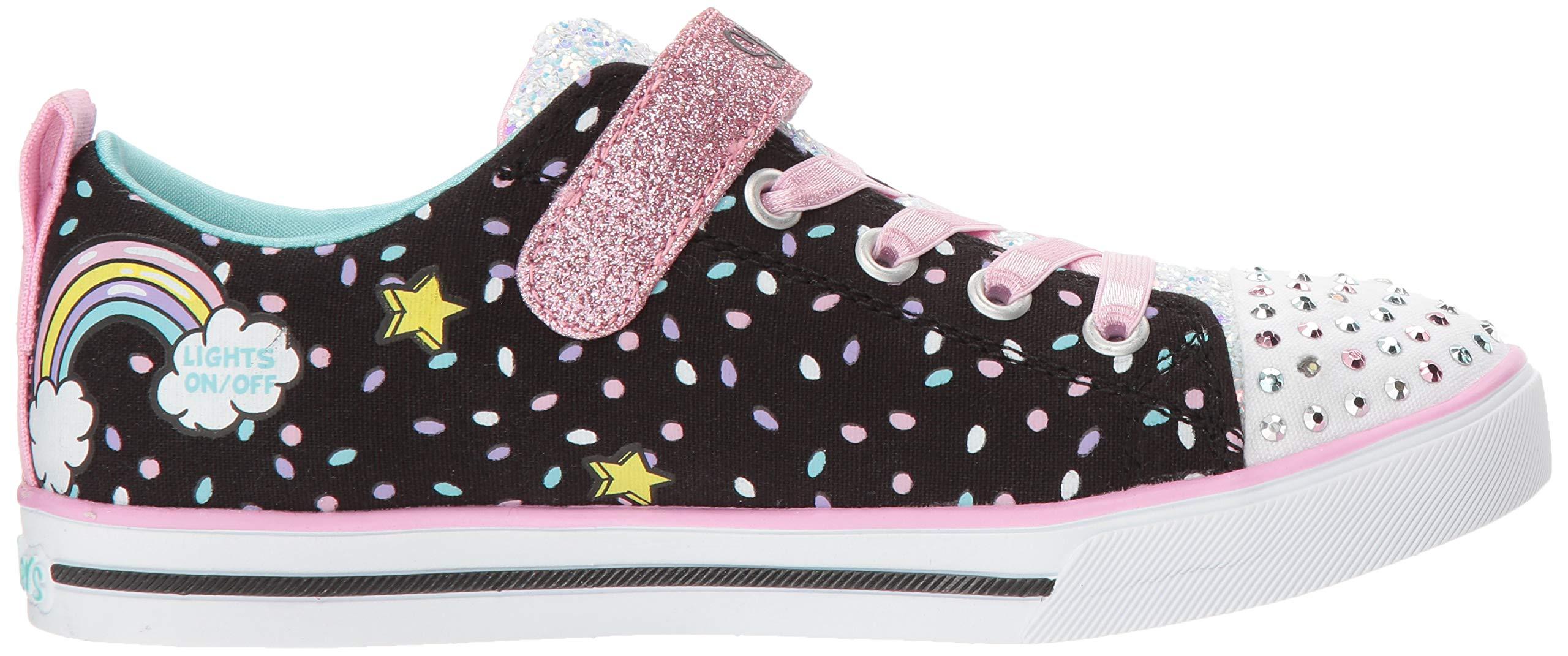 Skechers Kids' Sparkle Lite-Unicorn Craze Sneaker