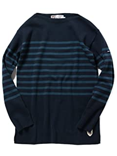 Boatneck Shirt 51-15-0406-166: Marine