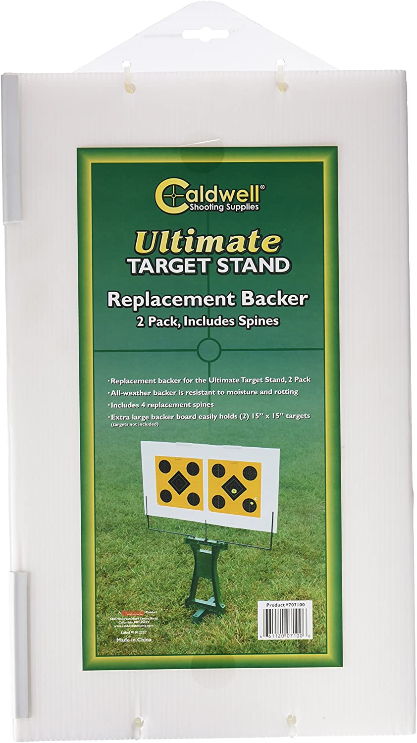 Caldwell Replacement Backers for the Ultimate Target Stand, 2-pack