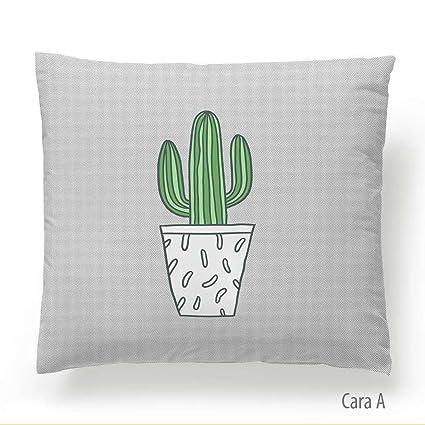 Martina Home Cactus Funda de Cojín, Tela, Multicolor, 50 x ...