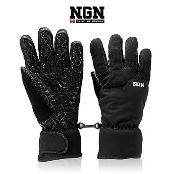 7a60bb783598e NGN Gants de Ski pour Homme et Femme | Snowboard | Outdoor | Imperméable | Gants  Thermiques ...