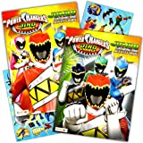 Power Rangers Coloring Book Super Set -- 2 Coloring and Activity Books and Over 50 Stickers