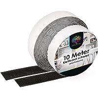 iLP Velcro zelfklevend zwart - 10 meter zelfklevende klittenband om te naaien - klittenband zelfklevend 20 mm breed…