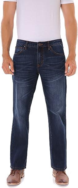 New £17.5 Ladies Indigo Classic Denim Style Cotton Pull-on Trouser Sz 8 Med