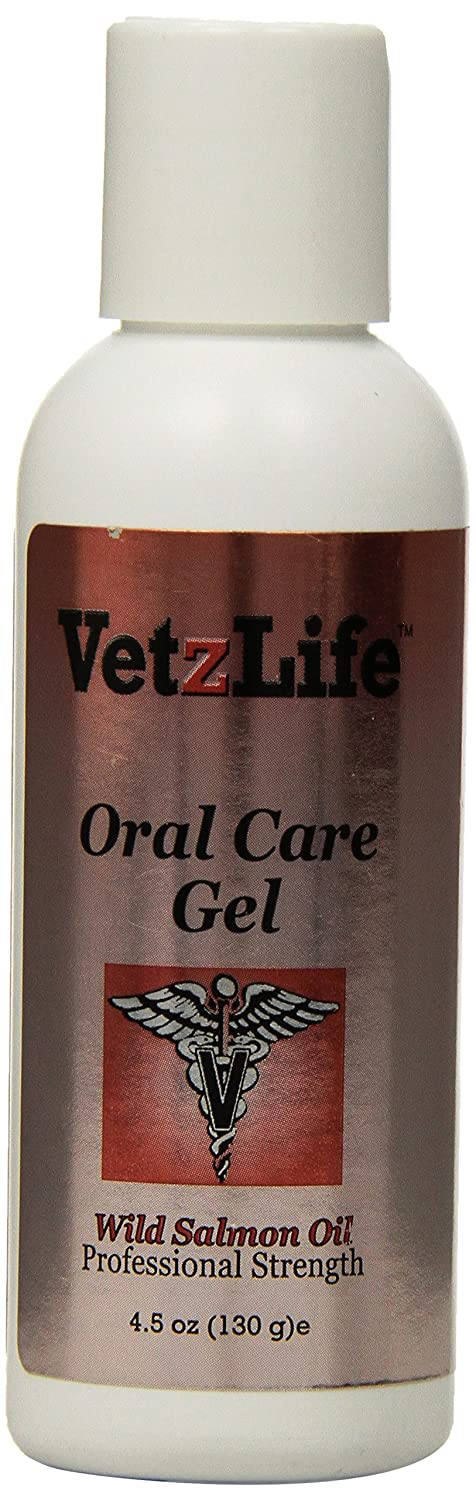 Petzlife Products VetzLife Oral Gel for Pets, 4.5-Ounce, Salmon