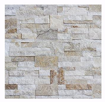 W 010 Wand Design Verblender Quarzit Wandverkleidung Steinwand   1 Muster    Naturstein Fliesen