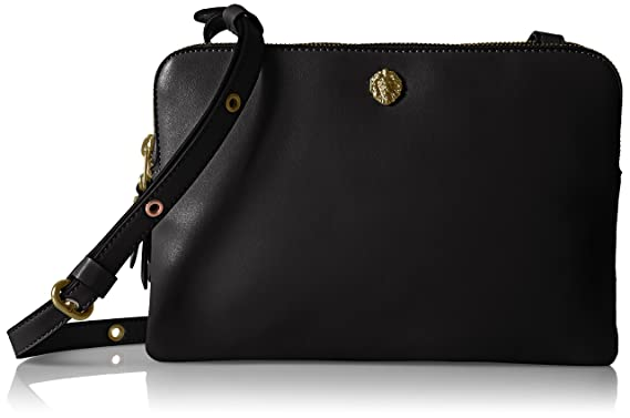 Image Unavailable. Image not available for. Color  Anne Klein Dual  Compartment Crossbody ab33cd977df85
