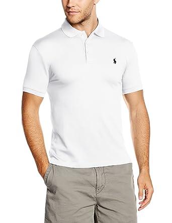 Polo Ralph Lauren SS KC SLFIT MDL 1, Homme, Blanc-Weiß (White 30511294fe4