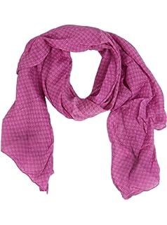 Zwillingsherz - Pañuelo de seda para mujer - Accesorio con diseño elegante - Apto como bufanda