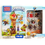 Mega Bloks Skylanders Tower of Time Building Set with Legendary Figures (95356) by Skylanders Giants