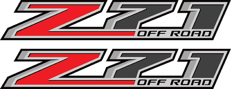 EZ Cut Pro 2 X 2015 Chevy Silverado Z71 Off Road 4x4 Decals F Stickers Parts GMC Sierra USA