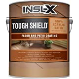 INSL-X TS331009A-01 Tough Shield Floor and Patio Coating Paint, 1 Gallon, Light Gray