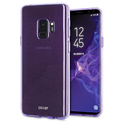 Olixar Samsung Galaxy S9 Gel Case LesAchats –  – Slim and Scratch Resistant – Orchid Grey