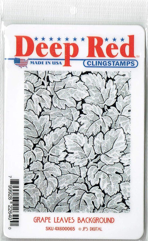 Deep Red Quantum Background Rubber Cling Stamp JPS Digital 4x605041