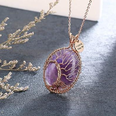 Wisdom Fox Crystal White Quartz Gemstone Healing Crystal with Stainless Steel Fashion Pendant