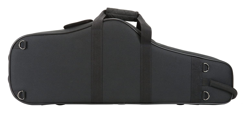 Kaces KBO-TSBK Lightweight Hardshell Tenor Sax Case, Black 4334279357