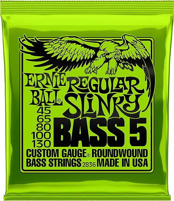 Ernie Ball 5-String Regular Slinky Nickel Wound Bass Set