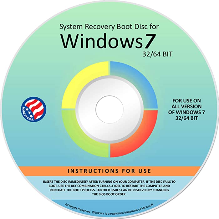 Top 7 Hp Recovery Disk Windows 7