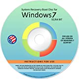 Ralix Reinstall DVD For Windows 7 All Versions 32/64 bit. Recover, Restore, Repair Boot Disc, and Install to Factory…