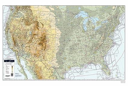 FAA Chart: US VFR Wall Planning Chart (Flat) VFRWPC (Current Edition)