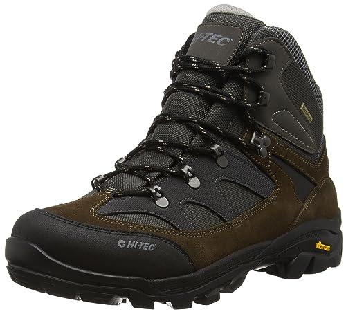 Hi-Tec Altitude Ultra I Waterproof, Scarpe da Arrampicata Alta Uomo, Marrone  (