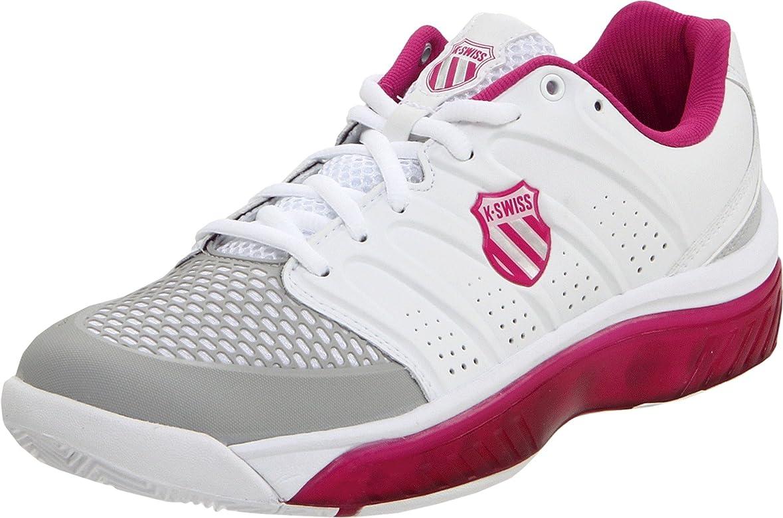 K-Swiss Zapatillas Tubes Tennis 100 Blanco/Frambuesa EU 43: Amazon.es: Zapatos y complementos